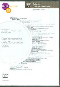 Droit et économie de la concurrence (2005) (coffre 1 CD-Rom)