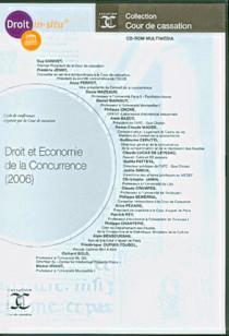 Droit et économie de la concurrence (2006) (coffret 1 CD-Rom)