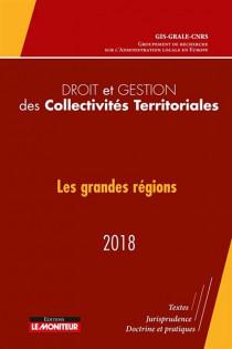 Droit et gestion des collectivités territoriales 2018