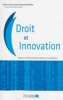 Droit et innovation