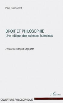 Droit et philosophie