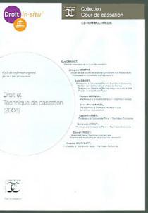 Droit et technique de cassation 2006 (coffret 1 CD-Rom)