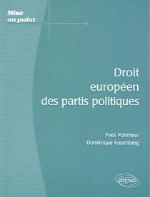 Droit européen des partis politiques