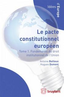 Le pacte constitutionnel européen