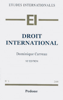 Droit international 2009