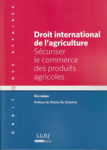 Droit international de l'agriculture