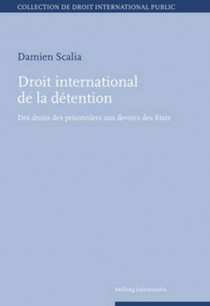 Droit international de la détention