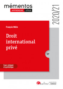 [EBOOK] Droit international privé