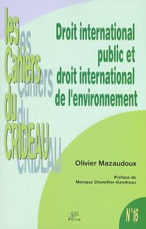 Droit international public et droit international de l'environnement