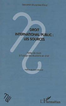 Droit international public : les sources
