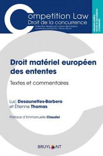 Droit matériel européen des ententes