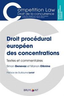 Droit procédural européen des concentrations