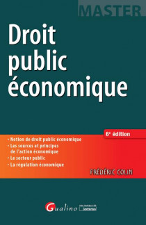[EBOOK] Droit public économique