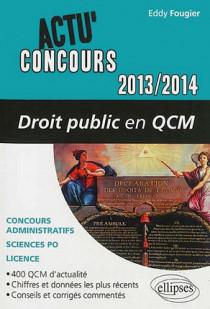 Droit public en QCM 2013-2014