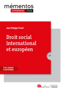 [EBOOK] Droit social international et européen