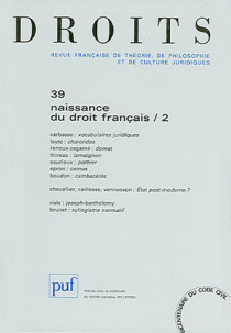 Droits, 2004 N°39