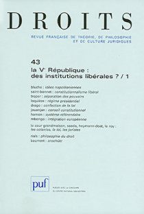 Droits, 2006 N°43