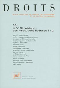 Droits, 2007 N°44