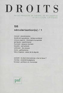 Droits, 2013 N°58