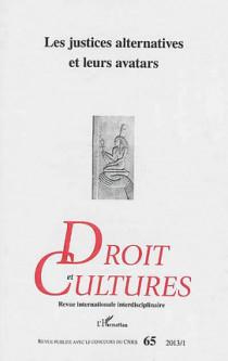 Droits et cultures, 2013/1
