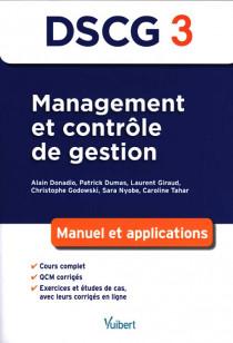 DSCG 3 : management et contrôle de gestion