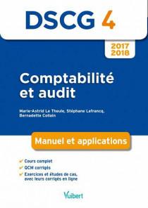 DSCG 4 : comptabilité et audit 2017-2018