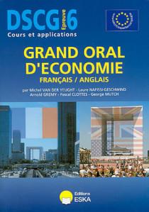 DSCG, épreuve 6 : grand oral de l'économie