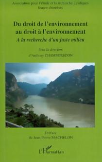 Du droit de l'environnement au droit de l'environnement