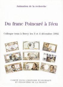 Du franc Poincaré à l'écu