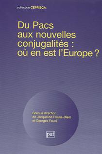 Du PACS aux nouvelles conjugalités : où en est l'Europe ?