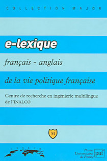 E-lexique français-anglais de la vie politique française