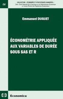 Econométrie appliquée aux variables de durée sous SAS et R