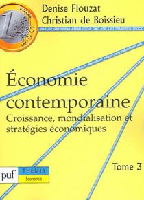 Economie contemporaine