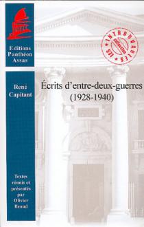 Écrits d'entre-deux-guerres (1928-1940)