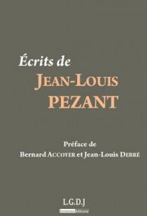 Ecrits de Jean-Louis Pezant