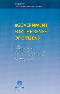 eGovernment for the benefit of citizens
