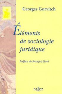 Eléments de sociologie juridique