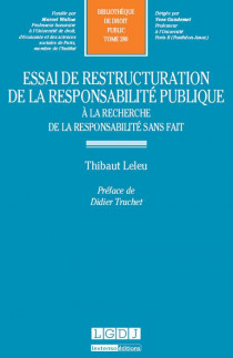 Essai de restructuration de la responsabilité publique
