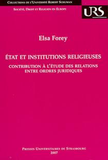 Etat et institutions religieuses