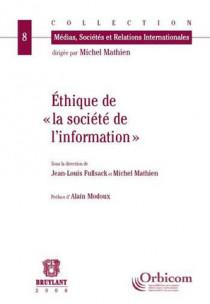 """Éthique de """"la société de l'information"""""""