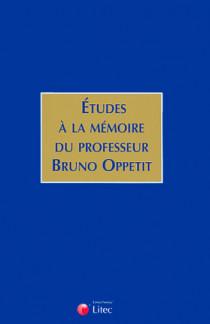 Etudes à la mémoire du professeur Bruno Oppetit
