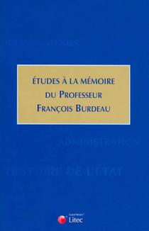 Etudes à la mémoire du professeur François Burdeau