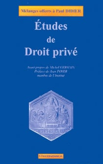 Etudes de droit privé