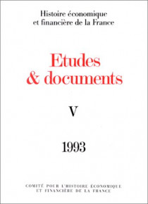 Études et documents - 1993