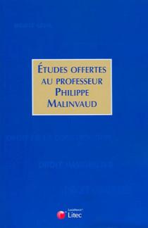 Etudes offertes au professeur Philippe Malinvaud