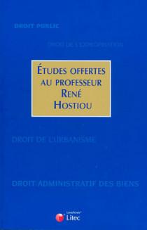 Etudes offertes au professeur René Hostiou