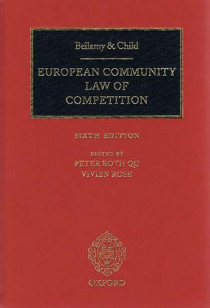 European Community Law of Competition - European Community Law of Competition, Second Cumulative Supplement - Materials on European Community Law of Competition, 2012 Edition (3 volumes)