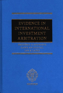 Evidence in International Investment Arbitration