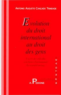 Evolution du droit international au droit des gens