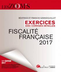 Exercices de fiscalité française avec corrigés détaillés 2017